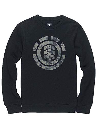Shirt Nero Logo Donna T Crew Element TqpSgS