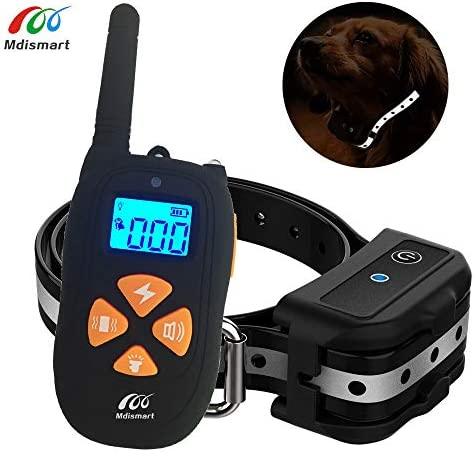 Dog Training Collar-Highest Rated Dog Shock Collar with Remote,Up to 2000ft Remote Range,3 Training Modes Beep,Vibration and Shock,100 Waterproof, 0 100 Shock Levels Dog Bark Collar