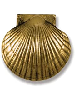 Bon Michael Healy Designs Bay Scallop Door Knocker   Brass (Standard Size)