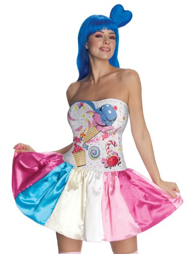 Candy Girl Katy Perry Costume - Small - Dress Size -