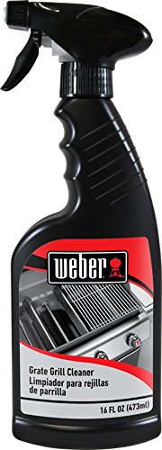 Grill Cleaner Spray - Professional Strength Degreaser - Non Toxic 16 oz Cleanser By Weber Cleaners (Electric Cleaner Grill)