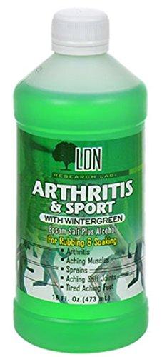 Dr Fred Summit Arthritis & Sport Rubbing Alcohol, Wintergreen, 4 Pack
