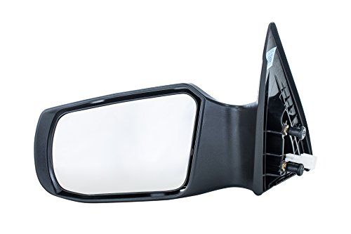 Dependable Direct Left Driver Side Non-Heated, Power Operated, Manual Folding, Unpainted Door Mirror for 07-2011 (2012 Sedan Only) Nissan Altima NI1320163