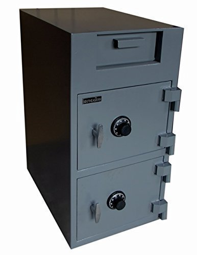 SOUTHEASTERN Double Door Depository Cash Drop Safe with UL listed mechanical lock