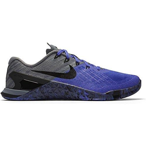 Nike Womens Metcon 3 Training Shoe PERSIAN VIOLET/BLACK-COOL GREY 7.0
