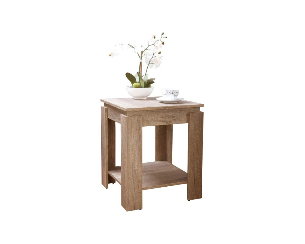 Canyon Oak Wooden Lamp End Table Living Room Furniture Carpet Kingdom