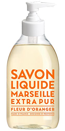 Compagnie de Provence Savon de Marseille Extra Pure Liquid Soap - Orange Blossom - 10 Fl Oz Plastic Pump Bottle