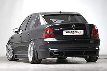 Rieger Trasero Enfoque Negro Mate para Opel Vectra B: de 07.98 (hasta Facelift): Amazon.es: Coche y moto