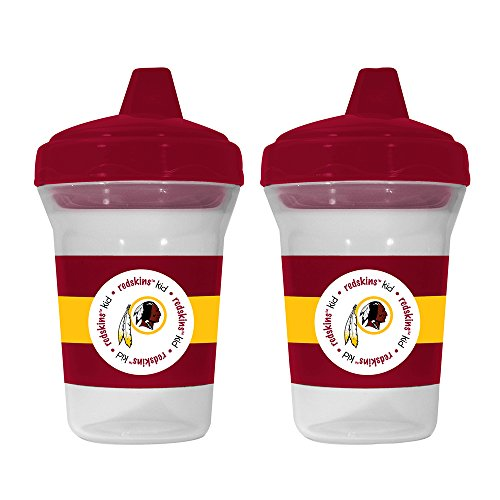 Baby Fanatic NFL Washington Redskins Baby Fanatic 2-Pack Sippy Cups
