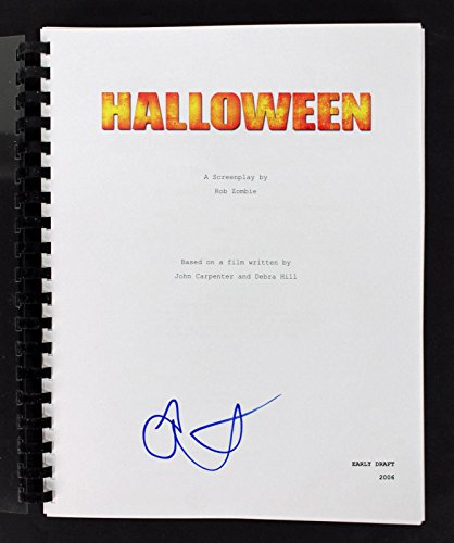 Scout Taylor-Compton Signed Halloween Movie Script BAS #D07620 - Beckett Authentication