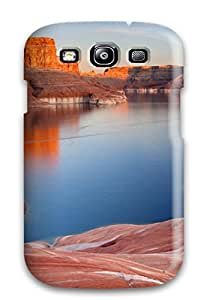 Excellent Design Padre Bay Lake Powell Utah Phone Case For Galaxy S3 Premium Tpu Case