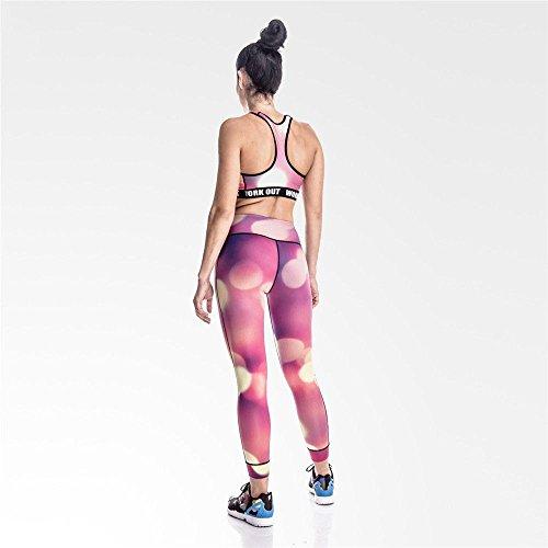 Vista Mayuan520 m De Leggings Alta Las Mujeres Cintura Pantalones Moda Nocturna Xl Leggingg Ciudad Mujer Imprimir qwPAITwr1