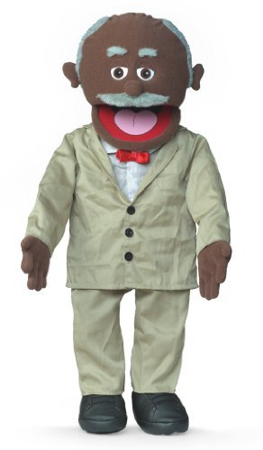 "Silly Puppets 30"" Pops, Black Grandfather, Professional P..."