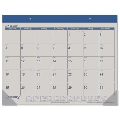 AAGSK2517 - At-A-Glance Monthly Fashion Desk Pad Calendar