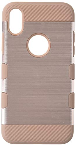 MyBat Apple-iPhone X TUFF Trooper Hybrid Protector Cover - Rose Gold/Rose Gold Brushed