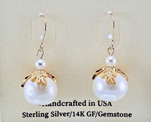 Classic Freshwater Pearl with ornate ()