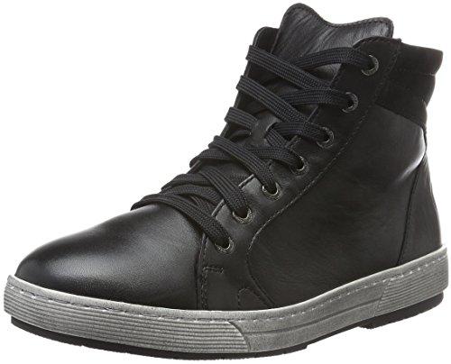 Ganter Helena, Weite H, WoMen Low-Top Sneakers Black (Schwarz 0100)