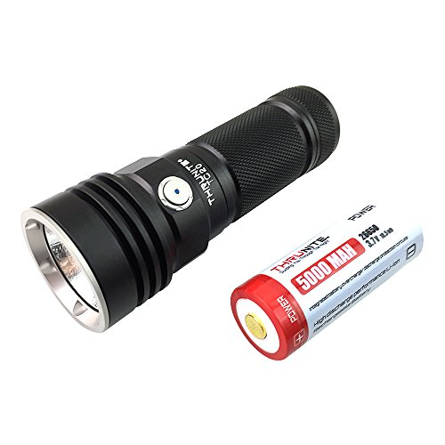 ThruNite TC20 3800 Lumen USB Rechargeable LED Tactical Flashlight CREE XHP70B LED (TC20 Cool White) (Operation Leaf Hours Orange Of)