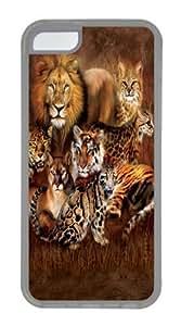 Lmf DIY phone caseCat Power Big Cat Custom iphone 4/4s Case Cover TPU TransparentLmf DIY phone case