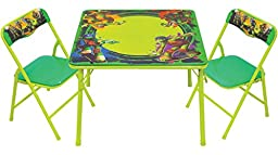 Teenage Mutant Ninja Turtles Maxin & Shellaxin Erasable Activity Table Set with 3 Markers