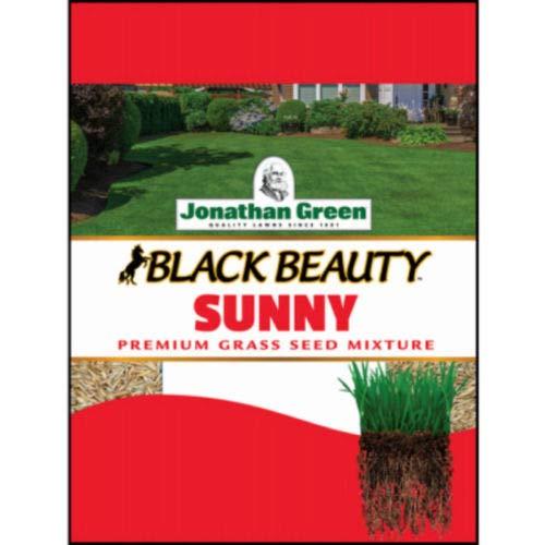Jonathan Green 10880 Black Beauty Full Sun Grass Seed Mixture, 7 Lb