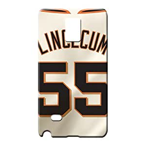 samsung note 4 Durability PC pattern mobile phone case player jerseys