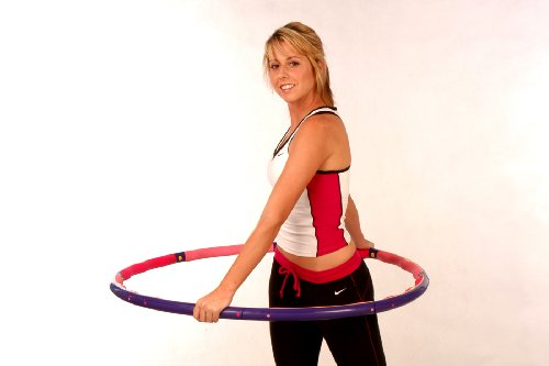 Weighted Sports Hula Hoop for Weight Loss - Power Hoop 5 Lb. Box Package