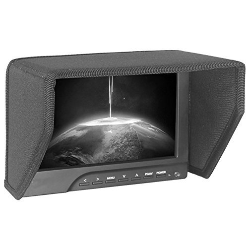 Sportsun 8 Inch HD LCD Monitor Sunshade/Monitor Hood for 20.32 cm Width Monitor Frame – Black