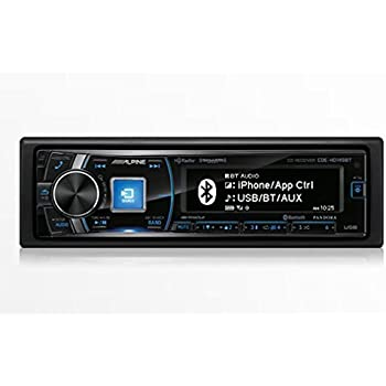 41zfOhGZcrL._SL500_AC_SS350_ amazon com cde hd137bt alpine in dash 1din cd mp3 usb receiver alpine cde-hd137bt wiring harness at creativeand.co