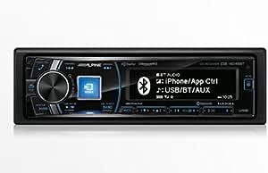 Alpine CDE-HD149BT Single-Din Bluetooth Car Stereo with HD Radio, Premium LCD Display and SiriusXM Ready