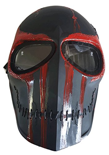 Rampage Army of Two Airsoft Mask Protective Gear Outdoor Sport Fancy Party Ghost Masks Bb Gun by Eggs & Banana