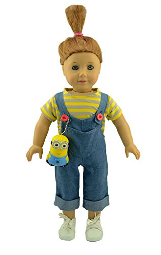 American Girl Doll Clothes Inspired Despicable Me Agnes Costume Fit 18 Inch Dolls Alike by dreamtoyhouse -