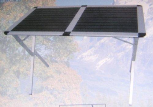 Alu-Rolltisch Campingtisch 83x54x70cm