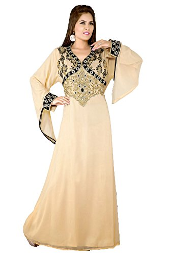 Islamische palasfashion Kleid Damen Kaftan kkpf17132 HxUCq