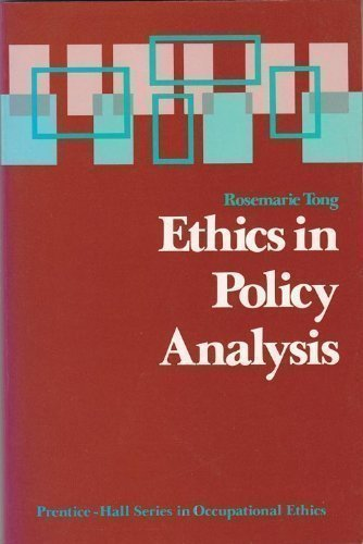 Ethics Policy on Deinstitutionalization