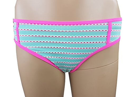 Bikini Push UP mit Bügel Träger abnehmbar /Gr. 40 L/pink türkis