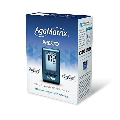 AgaMatrix Presto Blood Glucose Meter