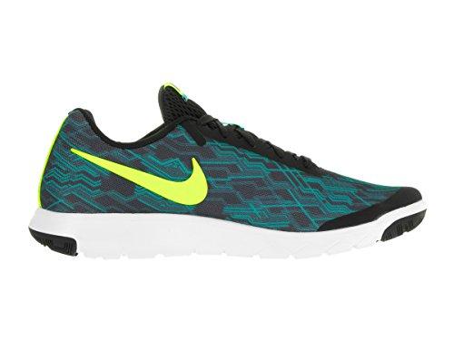 Nike Expérience Flex Rn5 Chaussure De Course Noir / Volt / Jade Clair / Blanc