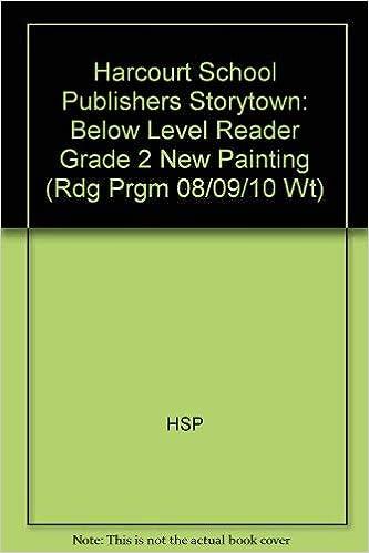 New Painting Below Level Reader Grade 2 Harcourt School
