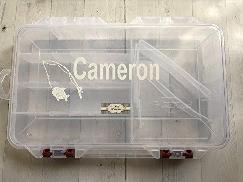 (Personalized Fishing Tackle Box 11