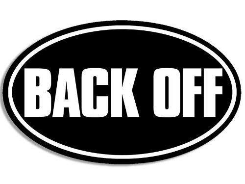 magnetic back for bumper sticker - 1