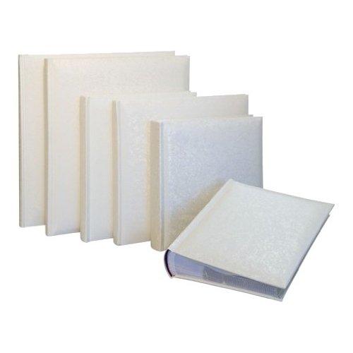 """Kenro White Satin Memo Album 100 6x9"""" (15.2x22.9cm)"""" Whit..."""