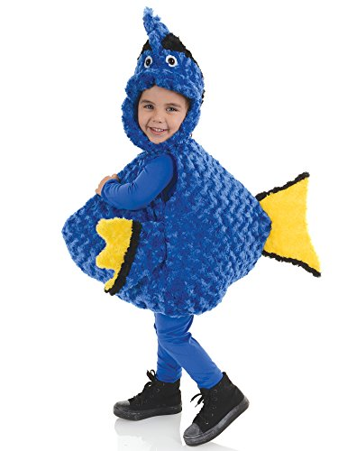 sc 1 st  Funtober & Underwraps Blue Fish Toddler Dory Halloween Costume - Funtober