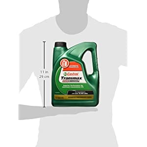 Castrol 03518 Transmax ATF Green High Mileage Transmission Fluid - 1 Gallon