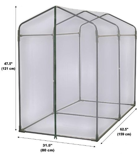 Cold Frame Propagator Mini Greenhouse Cloche: Amazon.co.uk: DIY & Tools