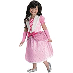 Rubies Barbie Rosebud Princess Costume, Child Small