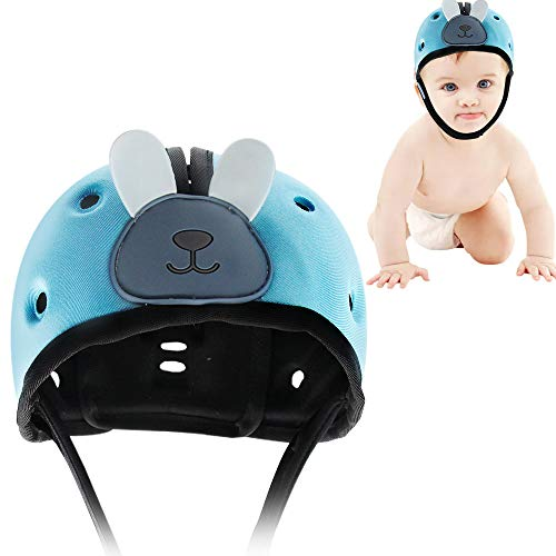 Baby Safety Helmet Infant Adjustable Head Protector Soft Headguard for Toddler Learning to Walk