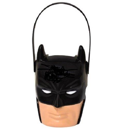 Batman - Figural Plastic Pail - Children Halloween Candy & Popcorn Pail