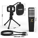 USB Microphone, TONOR Condenser Computer PC Mic