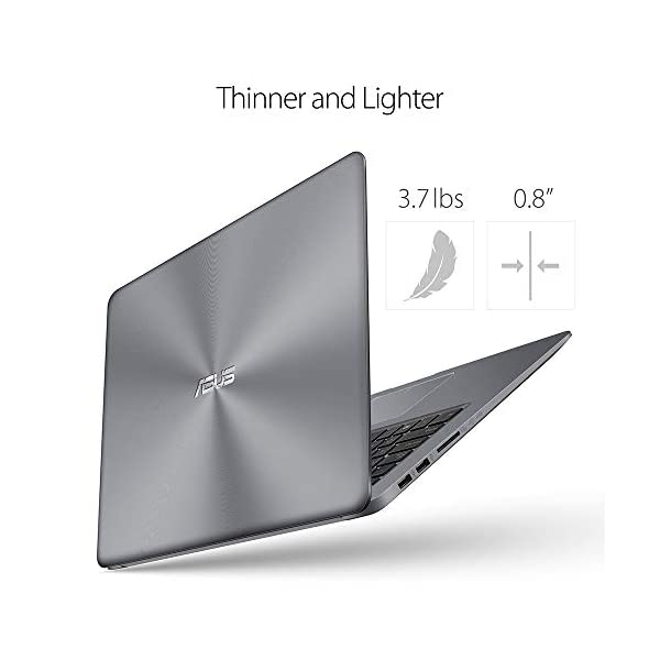 2019 ASUS VivoBook Premium Flagship Notebook Laptop 15.6 Inch WideView FHD Display AMD Quad-Core A12-9720P Processor 8GB… 2